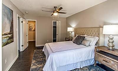 Bedroom, Redbud Bungalows, 2