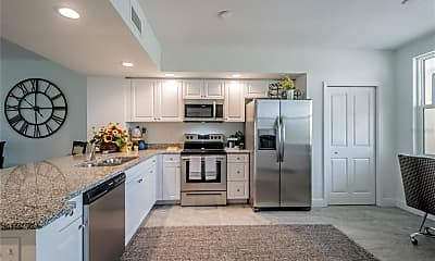 Kitchen, 1200 Country Club Dr 5102, 1