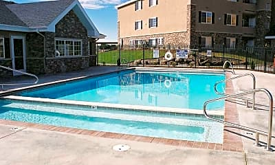 Pool, Deer Creek Village Apartments, 0