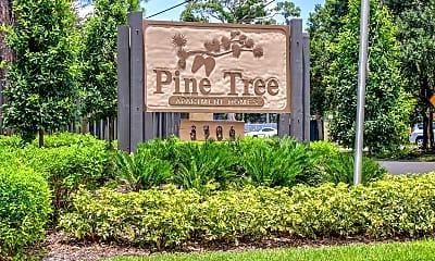 Community Signage, Pine Tree, 1