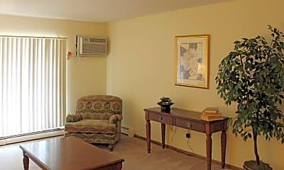 Living Room, River Pointe, 1