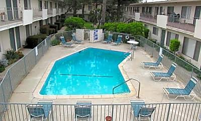 Pool, Pine Terrace Apartments, 0