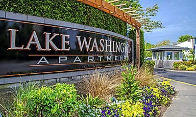 Community Signage, Lake Washington, 0