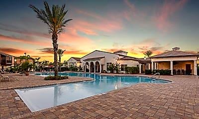 Pool, Hacienda Club, 1