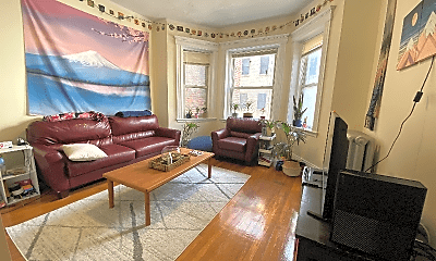 Living Room, 327 Huntington Ave, 0