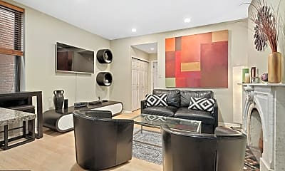 Living Room, 2025 Arch St D, 0