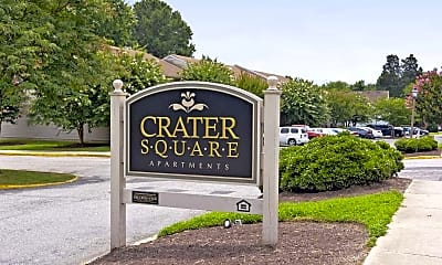 Community Signage, Crater Square & First Colony Apartments, 0