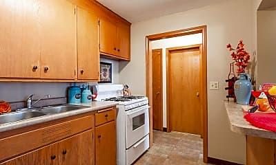 Kitchen, Lyndale Garden Apartments, 1