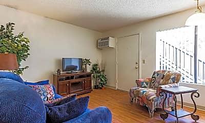 Living Room, Desert Palms, 1