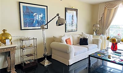 Living Room, 8855 Collins Ave 9E, 0