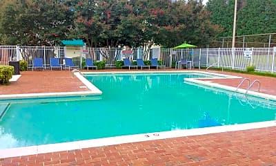 Pool, Park at Midtown, 1
