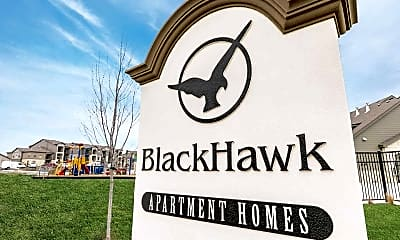 Community Signage, Blackhawk Apartment Homes, 1