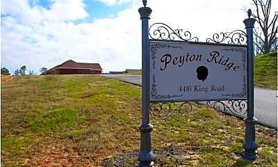 Community Signage, Peyton Ridge, 1