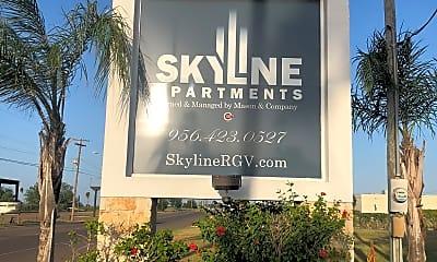 Skyline on Grimes, 1