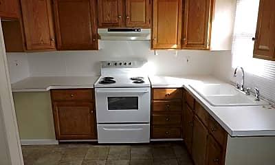 Kitchen, Archbald Apartments, 0