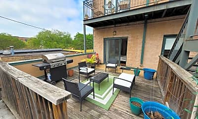 Patio / Deck, 4507 W Lawrence Ave, 2