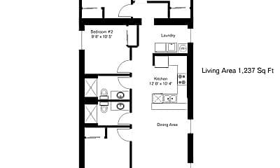 Patio / Deck, 1100 E 9th St, 2