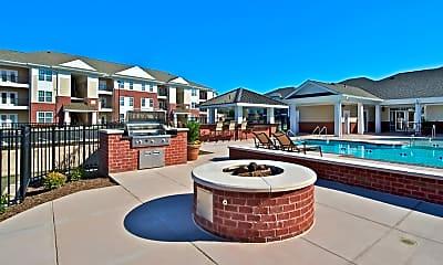 Pool, Meadowood Apartments, 1