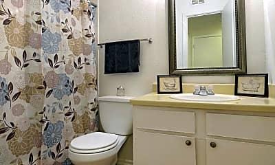 Bathroom, University Club Apartments, 2