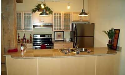 Kitchen, South Street Lofts, 1