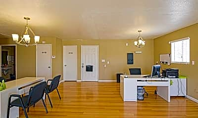 Leasing Office, Rosamond Garden Apartments, 1