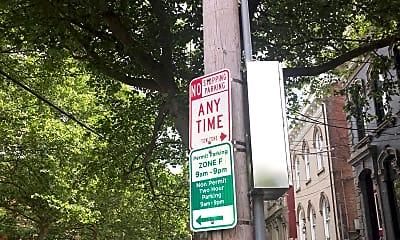 Community Signage, 426 Clark St, 2