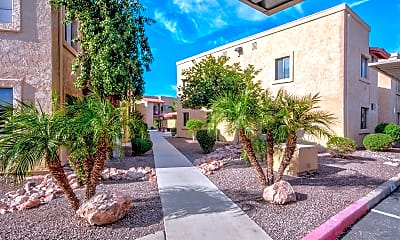 Landscaping, The Palms Apartments, 2