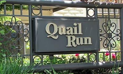 Community Signage, Quail Run, 1