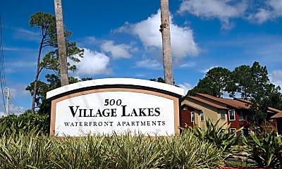 Community Signage, Village Lakes, 2