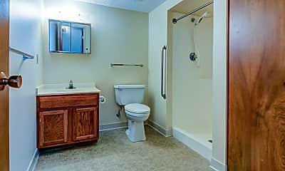 Bathroom, Chardon Court Apartments, 2
