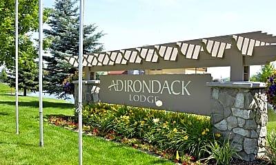 Community Signage, Adirondack Lodge, 2