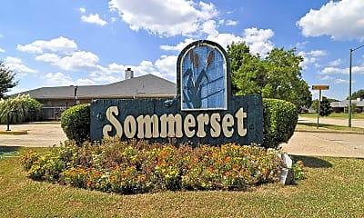 Community Signage, Sommerset Apartments, 2