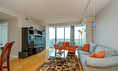 Living Room, 3338 Peachtree Rd NE 3302, 1