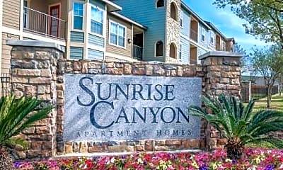 Community Signage, Sunrise Canyon, 2