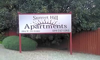 Sunset Hill Apartments, 1