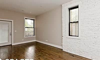 Living Room, 1215 N Wolcott Ave 1R, 1