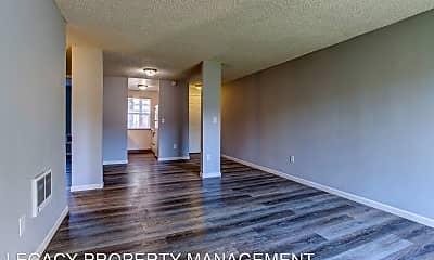 Living Room, 9118 SE Flavel Street, 1
