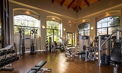 Fitness Weight Room, San Tropez, 2