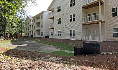 Building, Oak Court Apartments, 2