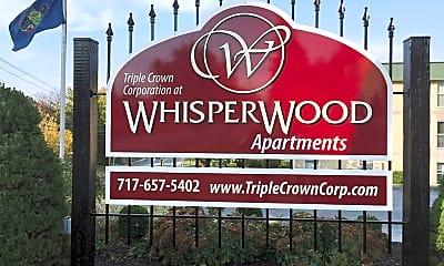 Community Signage, Whisperwood Apartments, 0