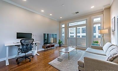 Living Room, 1355 W Washington Blvd 4E, 1