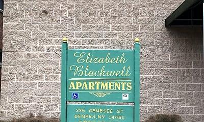 Elizabeth Blackwell, 1