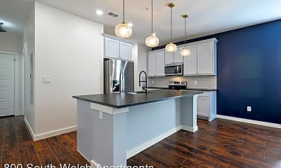 Kitchen, 800 South Welch Apartments, 0