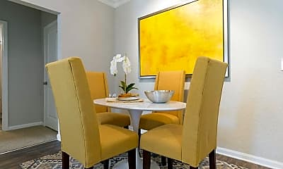 Dining Room, Crowne at Timberline Apartments and Townhomes, 2