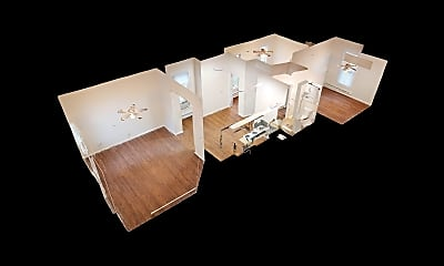 Bedroom, 2215 Washington Ave, 2