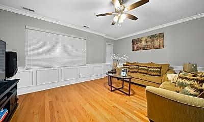 Living Room, 738 N Avers Ave 3N, 1