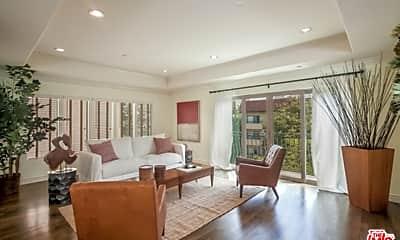 Living Room, 1741 S Bentley Ave 3, 0