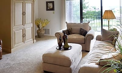 Living Room, Greenspring Apartments, 0
