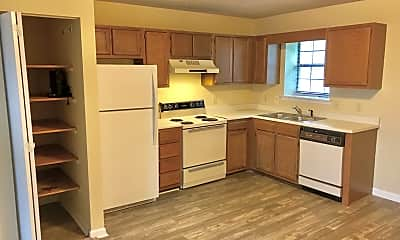 Kitchen, Clifton Place Apartments, 1