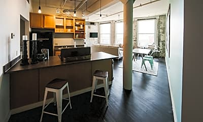 Kitchen, The Cannery Lofts, 1